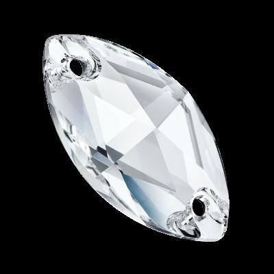 Preciosa Navette - Crystal