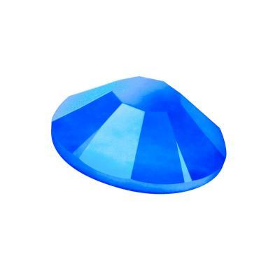 Preciosa Maxima Crystal Neon Blue under UV Light