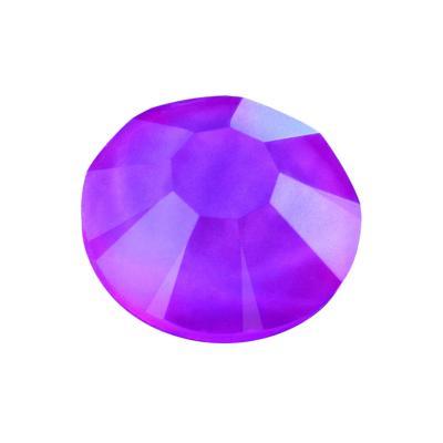 Preciosa Maxima Crystal Neon Violet under UV Light