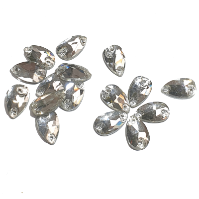 Premium DMC Stone Crystal Pearshape