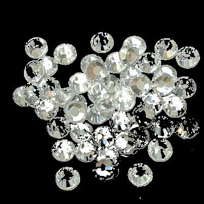 Premium DMC Stone Crystal Silver Foiled pic 2