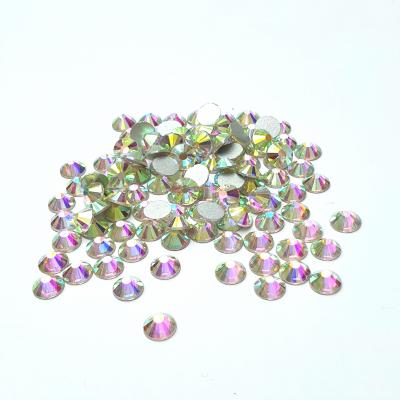 Premium DMC Stone Crystal AB Silver Foiled Aurora Borealis pic 3