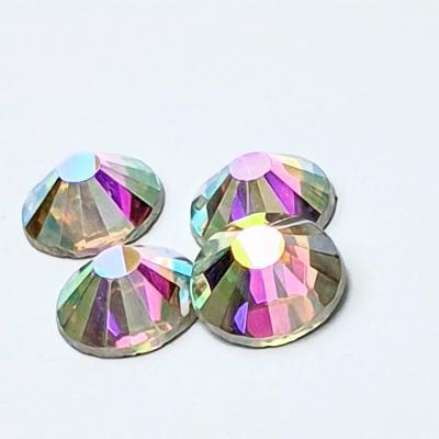 Premium DMC Stone Crystal AB Silver Foiled Aurora Borealis pic 4