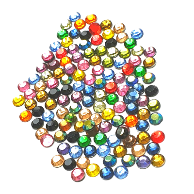 Hotfix Glass Diamantes Random Mix