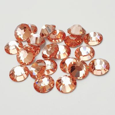 Preciosa VIVA12 Flatback - Apricot pic 2