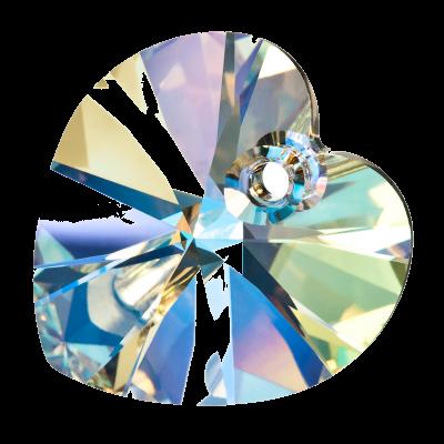 Preciosa Heart Pendant - Crystal AB pic 2