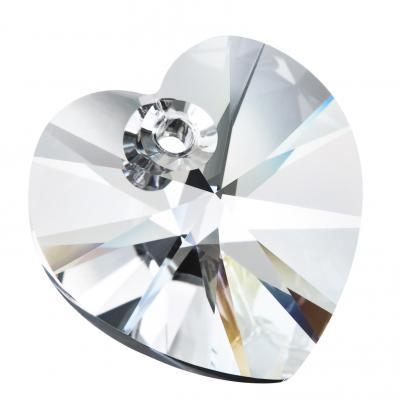 Preciosa Heart Pendant - Crystal pic 2