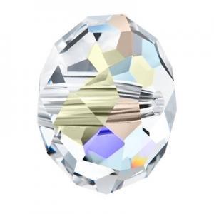 Preciosa Bellatrix Crystal AB Bead stock pic