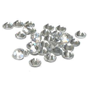 Premium DMC Stone Crystal Silver Foiled
