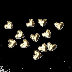 Hearts - Bright Gold