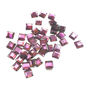 Amethyst Squares - AAA Grade Glass