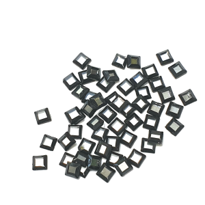 Cosmojet Squares - AAA Grade Glass Shapes