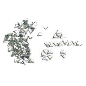 Crystal Triangles  - AAA Grade Glass Shapes