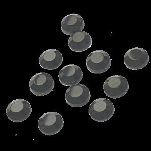 Jet Hematite AAA Grade Diamantes
