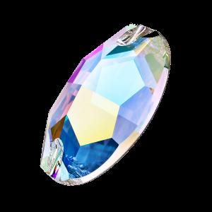 Preciosa Oval - Crystal AB