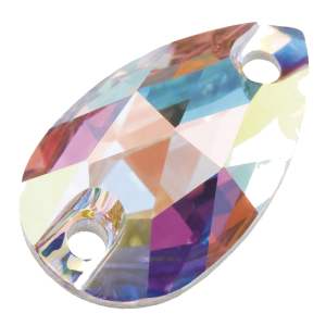 Preciosa Pearshape - Crystal AB