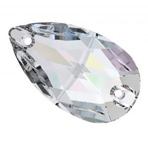 Preciosa Pearshape - Crystal
